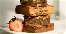 Brownies para contratar pessoas. Boa idéia!