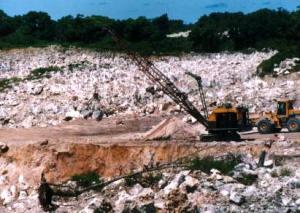 Mineração fosfato Nauru
