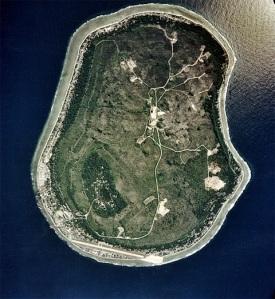 Nauru Visão Aéria